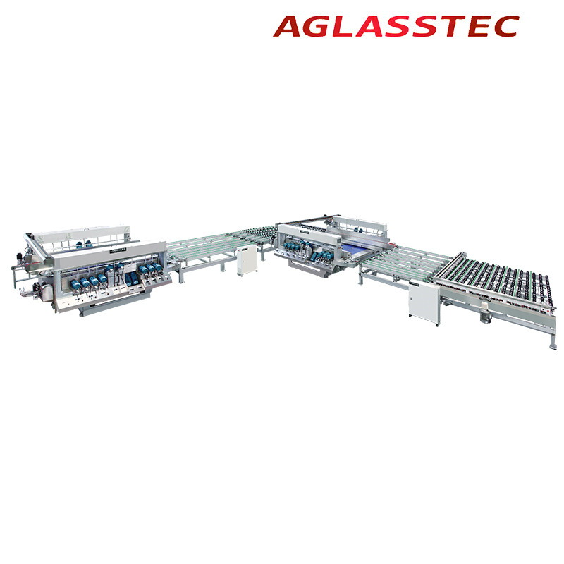 Jumbo Size Glass Four Sides Edger Grinding Processing Machine
